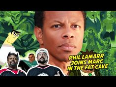PHIL LAMARR JOINS MARC IN THE FAT CAVE - FAT MAN ON BATMAN 066 - Video --> http://www.comics2film.com/phil-lamarr-joins-marc-in-the-fat-cave-fat-man-on-batman-066/  #Batman