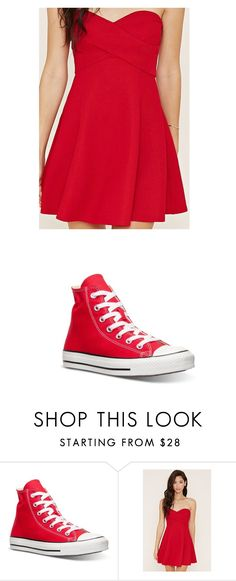 """""""Untitled #865"""" by laurie-egan on Polyvore featuring Converse and Forever 21"""