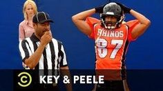 #Football Player's Excessive Celebration - Key And Peele - #funny