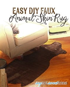 Easy DIY Faux Animal