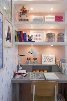 Desk Decor Ideas to Make Your Home Office. Girl Room, Girls Bedroom, Bedroom Decor, Bedroom Ideas, Home Office Design, Home Office Decor, Home Decor, Office Ideas, Office Nook