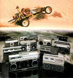 Blame it on the Boogie SHARP 1981 www.1001hifi.com