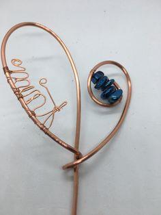 Cuff Bracelets, Copper, Garden, Gold, Diy, Jewelry, Garten, Jewlery, Bricolage
