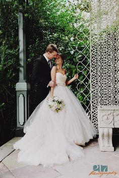 A Ball Gown Wedding Dress Is Soooooo Romantic