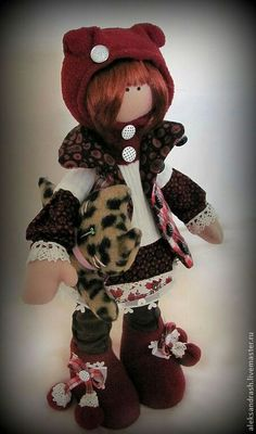 Tiger ~ Handmade Doll