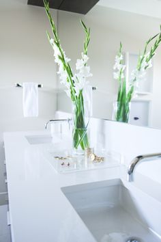 Shift Interiors is a full-service interior design studio founded by Jamie Deck and based in Vancouver, B. Monochromatic Color Scheme, Interior Design Studio, Glass Panels, Color Schemes, Sink, Flooring, Simple, Modern, Condo