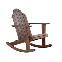 Home Decorators Collection | Linon Woodstock Rocking Chair Teak ** Visit the image link more details. Note:It is Affiliate Link to Amazon.