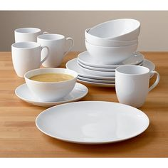 Need 1 more set with the larger bowls. | Essential Dinnerware in Dinnerware Sets | Crate and Barrel