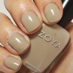Zoya Urban Grunge Once Coat Creams - Noah | Kat Stays Polished @zoyanailpolish #urbangrunge