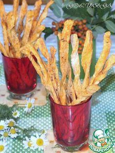 Cоленые томатные палочки с тмином - кулинарный рецепт