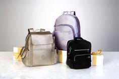 $69 - $169 Metallic Backpacks