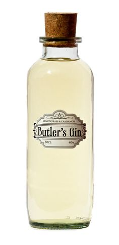 Butler's Lemongrass & Cardamom Gin. Need to find this here....hey, Spec's?