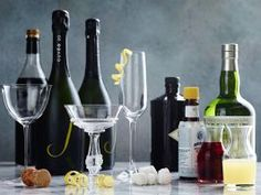 Bubbly Tips : Unless you're making a drink where the flavor of Champagne really matters (like the Classic Champagne Cocktail), generally, inexpensive alternatives such as Cava, Sekt, Prosecco or California sparkling wine work well. Always pour the mixers in first, then top off with champagne to avoid fizzy overflow.