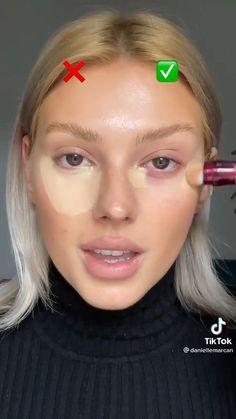 Makeup Art, Makeup Tips, Beauty Makeup, Hair Makeup, Hooded Eye Makeup Tutorial, Makeup Looks Tutorial, Eyeliner Make-up, Makeup Face Charts, Soften Hair