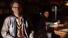 Christian Slater (Mr. Robot) and Rami Malek (Elliot) - Director's Eye View