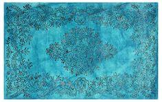 One Kings Lane - Beyond the Bed - Karvani Rug, Blue