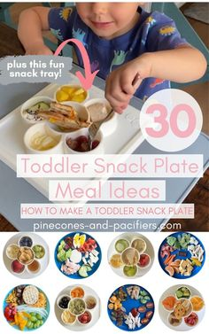 A list of 30 toddler snack plate lunch ideas plus tips and tricks for making an easy toddler snack plate! Pin this for meal time inspiration! Healthy Toddler Lunches, Plate Lunch, Breakfast Lunch Dinner, Food Plating, Lunch Ideas, Meal Ideas, Kids Meals, Toddlers, Group