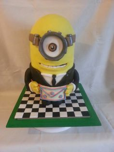 Local self taught novelty cake maker and decorator specialising in amazing carved and airbrushed cakes for all public and corporate events Star Trek Cake, Jobs Daughters, Masonic Symbols, 65th Birthday, Freemasonry, Novelty Cakes, Amazing Cakes, Minions, Carving