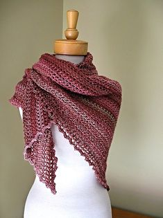 Free Crochet Shawl and Wrap Patterns These are all links to Free Crochet Shawl and Wrap Patterns. New Patterns are indicated in Pink Text. If there are any broken links or a fee for the pattern, pl…