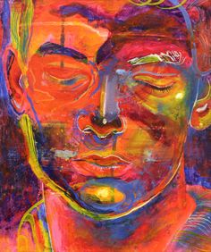 Boy # 3 / 2012 / acrylic, pastel and ink on paper / 30 x 25 cm by Stefan Venbroek