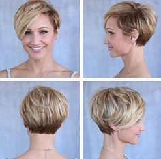 "15.Short-Hair-Cut-Style » New Medium Hairstyles [ ""I"