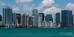Miami on Biscayne Bay Usa Holidays, South Beach, Places Ive Been, New York Skyline, Miami, Travel, Viajes, Destinations, Traveling