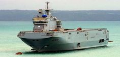 French Marine Nationale Mistral class amphibious assault ship BPB FNS Mistral, lead ship of class. Royal Canadian Navy, Royal Navy, Uss America, Capital Ship, Landing Craft, Man Of War, Navy Military, Armada, Navy Ships