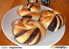 Kakaové turbánky recept - TopRecepty.cz 20 Min, Kefir, Bagel, Nutella, French Toast, Bread, Baking, Breakfast, Food