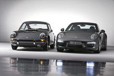 1964 Porsche 911 2.0 Coupé & Porsche 911 Carrera 4S Coupé (991) by Auto Clasico, via Flickr