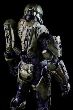 toyhaven: Pre-order ThreeA Toys HALO 4 Master Chief Spartan Mark IV Sixth Scale Figure (13.5 inches)
