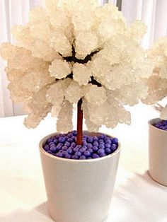 Custom Rock Candy Trees by TLC's Candy Queen!