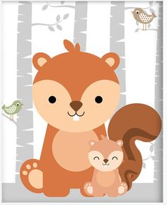 Pin by karena carrillo on woodland детская комната, рисунки, Woodland Animals Theme, Woodland Baby, Woodland Creatures, Woodland Nursery, Nursery Prints, Nursery Art, Baby Frame, Baby Art, Baby Kind