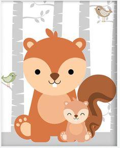 Pin by karena carrillo on woodland детская комната, рисунки, Woodland Animals Theme, Woodland Baby, Woodland Creatures, Woodland Nursery, Nursery Prints, Nursery Art, Baby Frame, Baby Art, Animal Nursery