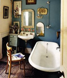 Dishfunctional Designs: The Bohemian Bathroom                                                                                                                                                                                 More