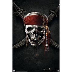 Disney is planning to shoot Pirates of the Caribbean 5 & 6 back-to-back. Pirates of the Caribbean: On Stranger Tides stars Johnny Depp. Pirate Art, Pirate Skull, Pirate Life, Pirate Ships, Dark Fantasy Art, Fantasy Kunst, Dark Art, Captain Jack Sparrow, Atelier Disney