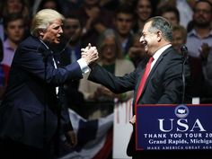 Speaking in Grand Rapids, Trump names Dow exec to advisory group(12.9.16)
