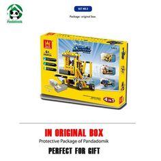 4in1 Building Blocks Technic Educational Toys Electric Motor