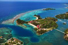 Roatan, Honduras. One of best scuba diving destinations in the world