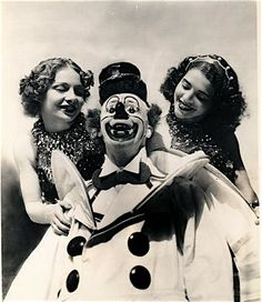 Vintage clown # clowns are healers # bring on the laughter