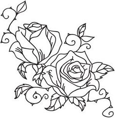 The Latest Trend in Embroidery – Embroidery on Paper - Embroidery Patterns Brush Embroidery, Hand Embroidery Tutorial, Ribbon Embroidery, Embroidery Patterns, Machine Embroidery, Dorn Tattoo, Urban Threads, Wood Burning Patterns, Leather Carving