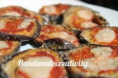 ricetta pizzette di melanzane