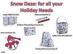 Thirty-One Snow Daze ideas!  https://www.mythirtyone.com/415365/