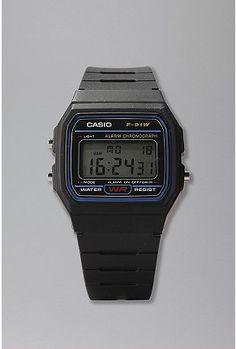 Casio Black Classic Watch