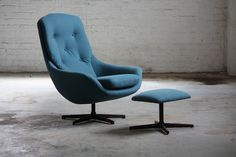 Captivating (and Comfortable) Soda Galvano Lounge Chairs (Norway, 1950's) by Kinzco, via Flickr