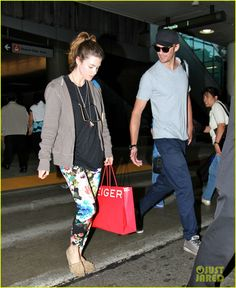 This was my inspiration for buying floral pants...Lucy Griffiths makes this casual chic look so beautiful!