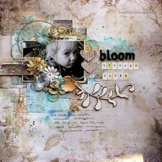 Paperiliitin's Gallery: Bloom Through Storm