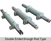 A double acting cylinder is extended and retracted using hydraulic or pneumatic pressure in both directions. Double acting telescopic cylinders are thus much more complex in design than the single acting type.
