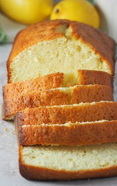 This Lemon Loaf Cake is a simple, lightly indulgent cake that you can make for your everyday dessert. If you crave the nice and bright flavor of lemon, this lemon cake highlights the flavor beautifully, in a dessert that is easy and uncomplicated. Best Dessert Recipes, Cupcake Recipes, Brunch Recipes, Baking Recipes, Bread Recipes, Crockpot Recipes, Lemon Loaf Cake, Lemon Bread, Lemon Cakes