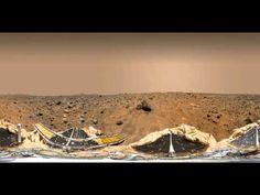 NASA's Mars Pathfinder & Sojourner Rover (360 View)
