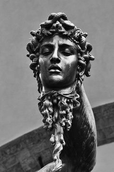 Benvenuto Cellini's 1545 bronze sculpture of Perseus with the head of Medusa